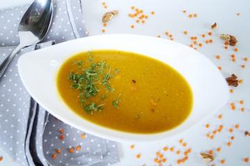Rezept Linsen Süßkartoffel Suppe