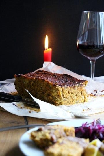 Rezept Linsenbraten mit Maroni