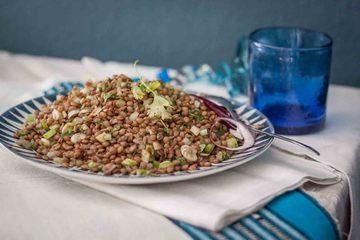Rezept Linsensalat mit Koriander
