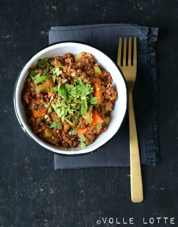 Rezept Linsentopf mit Gemüse und Mett