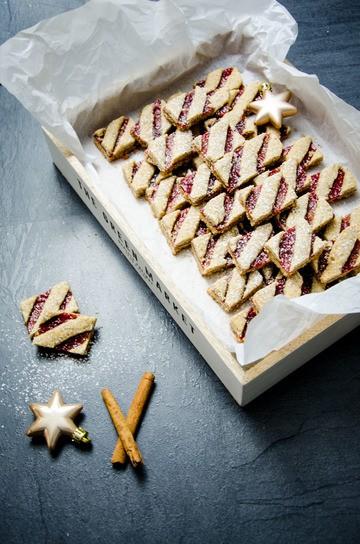 Rezept Linzer Schnitten (Weihnachtskekse)