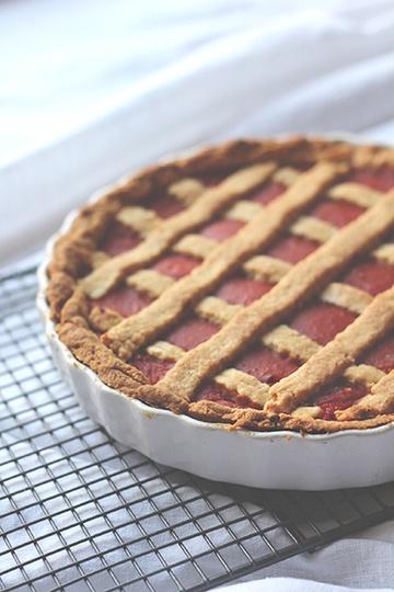 Rezept Linzer Torte mit Paprikaragout und Salbei