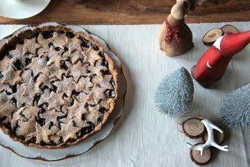 Rezept Linzer Torte mit Sternendeko