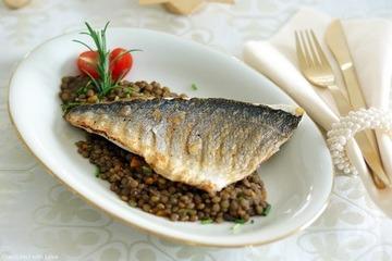 Rezept Loup de Mer auf Balsamicolinsen