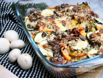 Rezept Low-Carb Gemüseauflauf