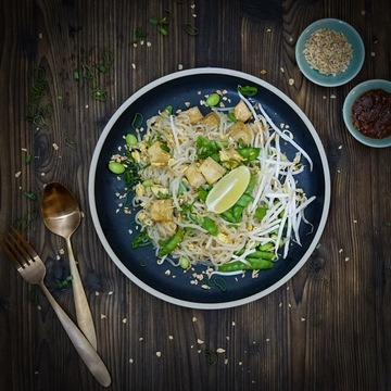 Rezept LOW CARB PAD THAI (SHIRATAKI NOODLES)