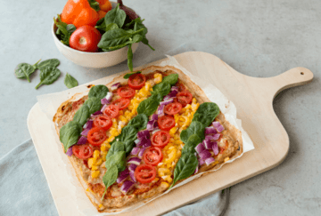 Rezept Low Carb Protein-Pizza mit Thunfischboden