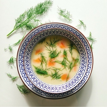 Rezept Low Carb Selleriesuppe mit Räucherlachs