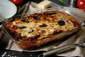 Rezept Low-Carb Zucchini-Lasagne