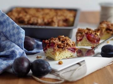 Rezept Low-Carb Zwetschgenkuchen mit Streusel