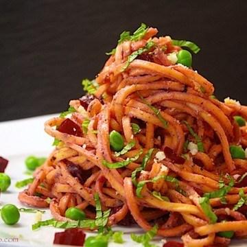 Rezept Macadamia-Rote Bete-Pesto