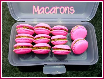 Rezept Macarons-pretty in pink