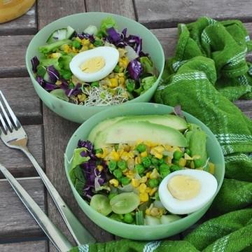 Rezept Mais Avokado Salat
