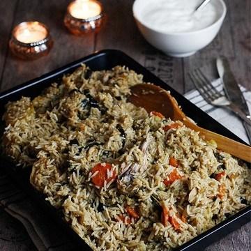 Rezept Makluba - orientalisches Reisgericht