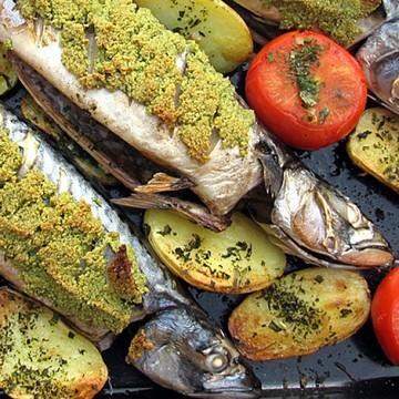 Rezept Makrele fusion baltisch-mediterran