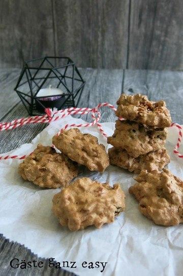 Rezept Makronen mit weißer Schokolade und Sauerkirschen