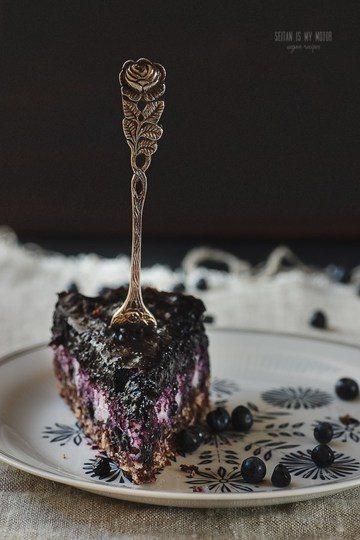 Rezept Makronenkuchen mit Blaubeeren