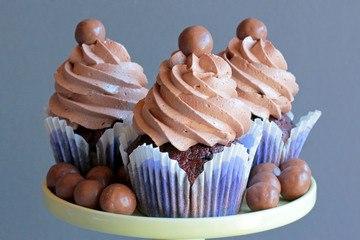 Rezept Maltesers Cupcakes