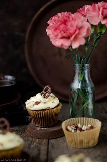 Rezept Malzbier-Brezel-Cupcakes