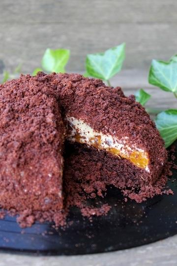 Rezept Mandarinen-Eierlikör-Maulwurfskuchen