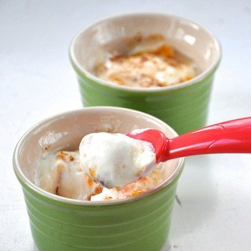 Rezept Mandarinen Joghurt Brulée