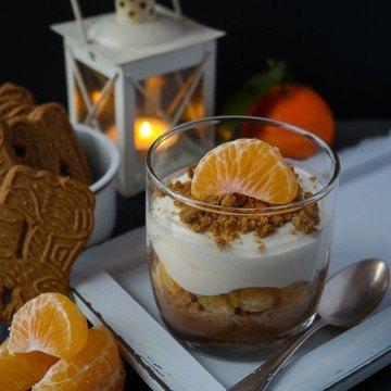 Rezept Mandarinen-Spekulatius-Trifle