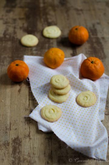 Rezept Mandarinenkekse