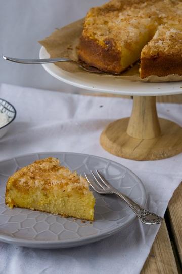 Rezept Mandarinenkuchen mit Kokosknusper