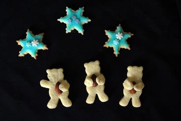 Rezept Mandel-Bärchen - süße Plätzchen