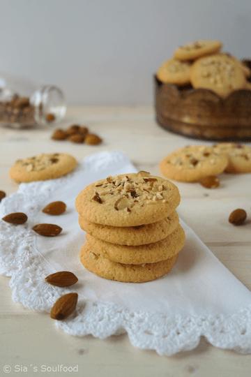 Rezept Mandel Cookies