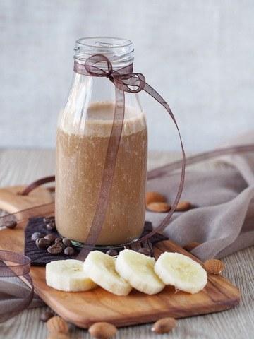Rezept Mandel-Espresso-Smoothie