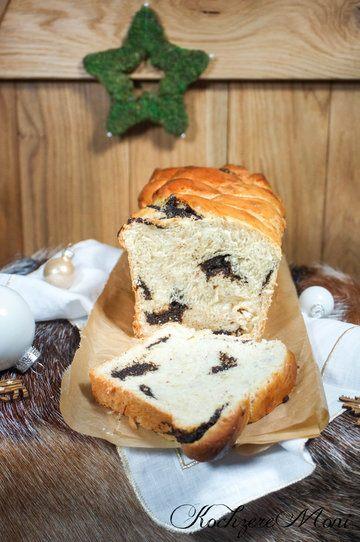 Rezept Mandel Mohn Striezel Brot