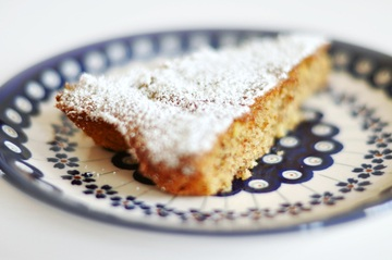 Rezept Mandel-Zitronen-Kuchen - Gató de almendra