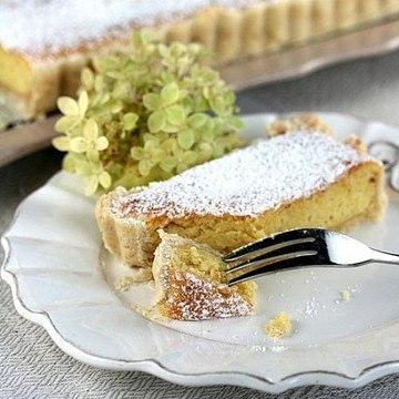 Rezept Mandel-Zitronen-Tarte