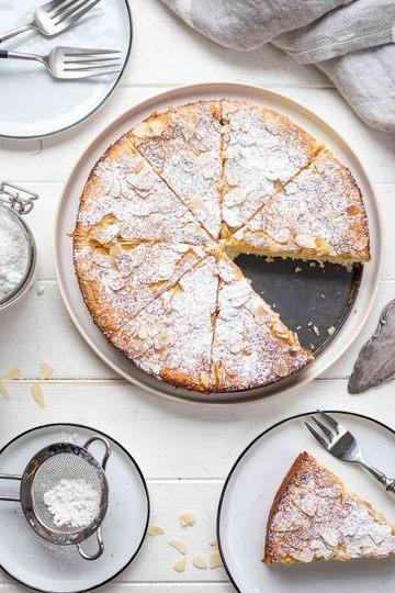 Rezept Mandelkuchen mit Ricotta und Zitrone (ohne Mehl)