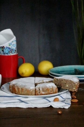 Rezept Mandelkuchen - Zuckerfrei und Vegan