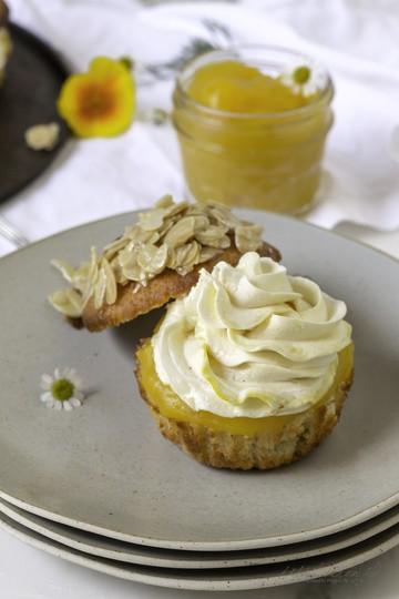 Rezept Mango-Bienenstich Muffins
