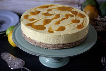 Rezept Mango-Cheesecake ohne Backen