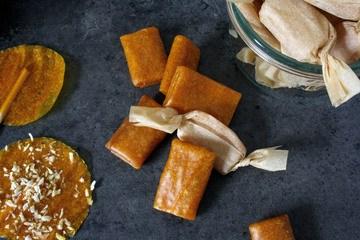 Rezept Mango-Kaubonbons & Mango-Lollies ohne Zucker