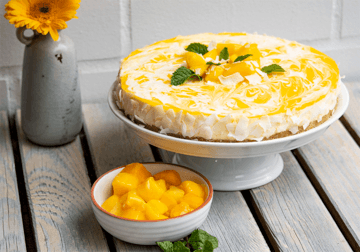 Rezept Mango Kokos Cheesecake (no bake)