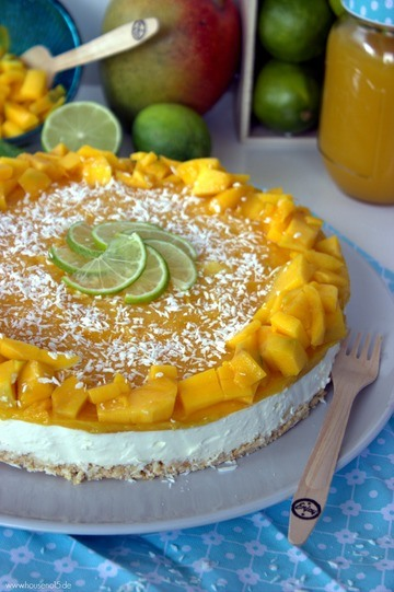 Rezept Mango-Kokos-Torte