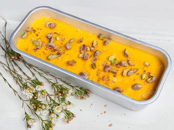 Rezept Mango-Maracuja-Eis mit Pistazien