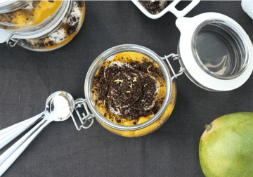 Rezept Mango Mascarpone Dessert mit Oreo