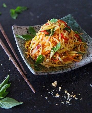 Rezept Mango-Salat aus Kambodscha
