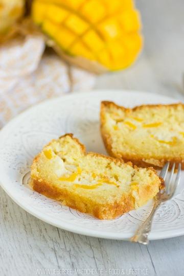 Rezept Mango-Schmand-Rührkuchen