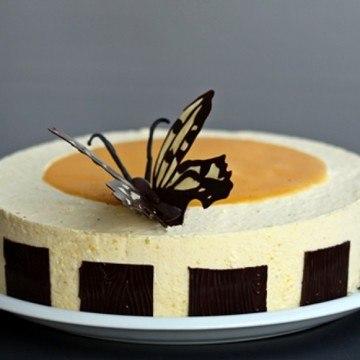 Rezept Mango-Schoko Torte