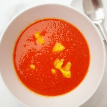 Rezept Mango-Tomaten Suppe