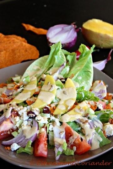 Rezept Mango Tortilla Salat