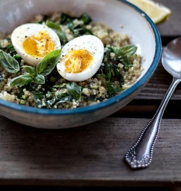 Rezept Mangold & Quinoa Bowl