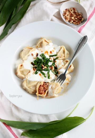 Rezept Manti in Joghurtsauce